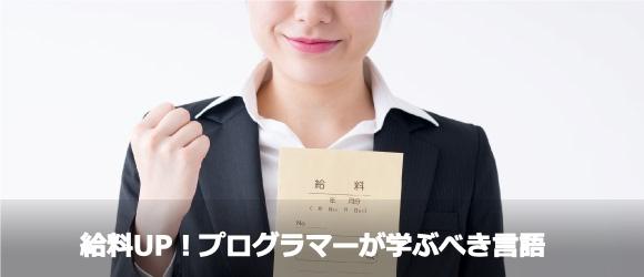 給料を上げたいプログラマーは、どの言語を学ぶべきなのか?